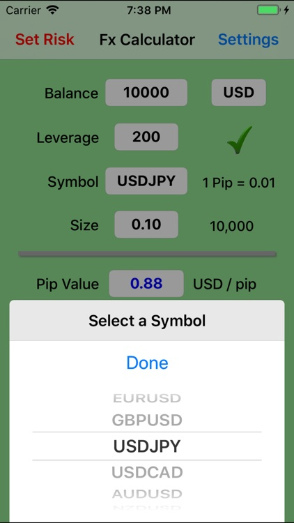 Forex Trade Calculator screenshot-2