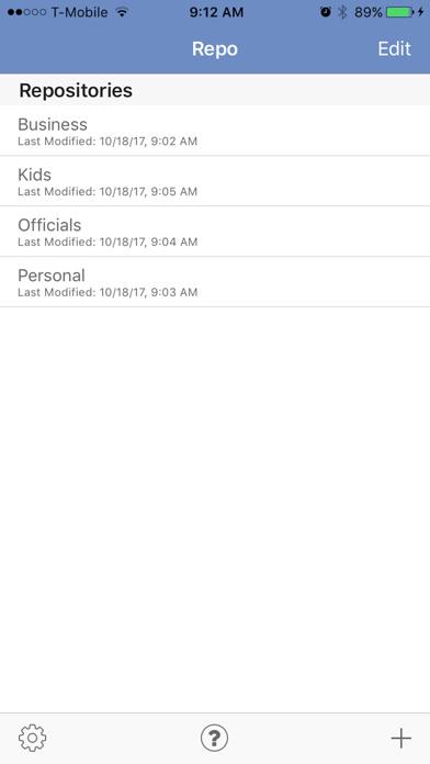 PassRepo screenshot two