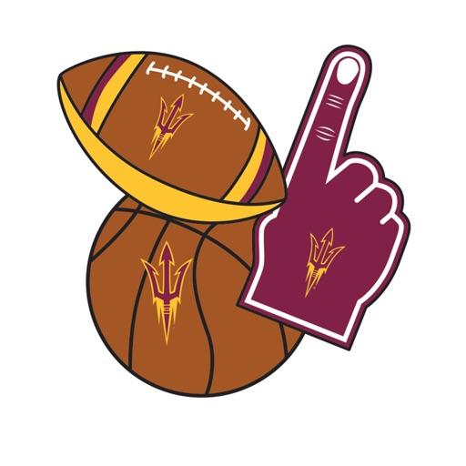 Arizona State Sun Devils Selfie Stickers