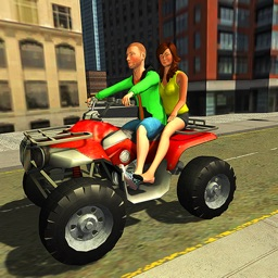 Modern ATV Taxi Simulator