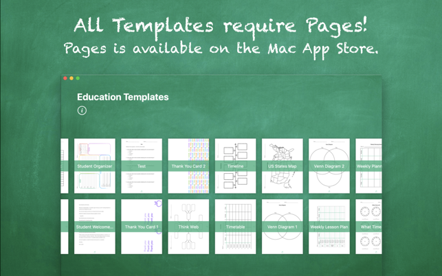 ‎Education Templates by Nobody Screenshot