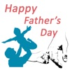 Happy Fathers Day Stickers2018