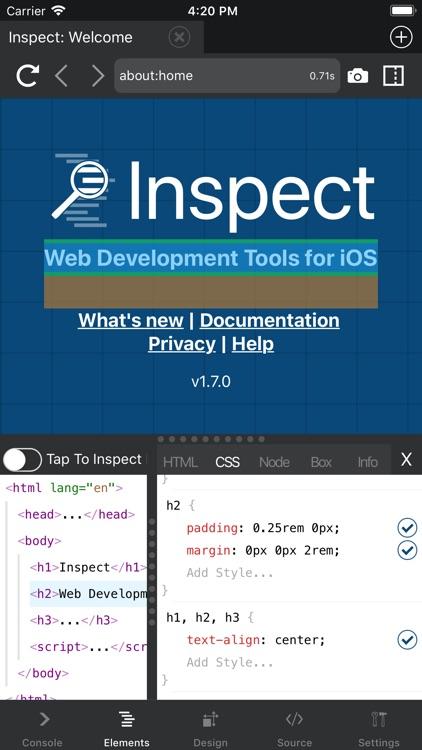 Inspect Browser screenshot-3