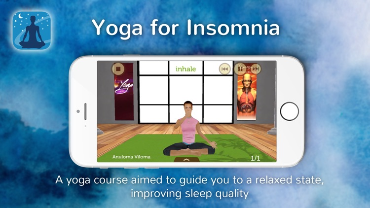 Yoga for Insomnia screenshot-0