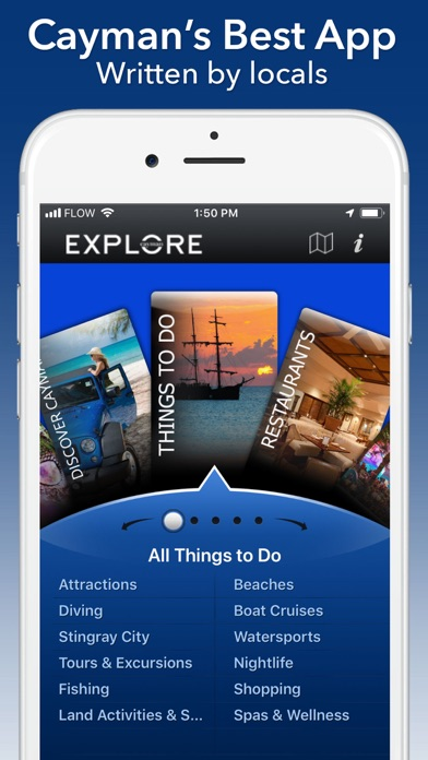 Explore Cayman for iPhone