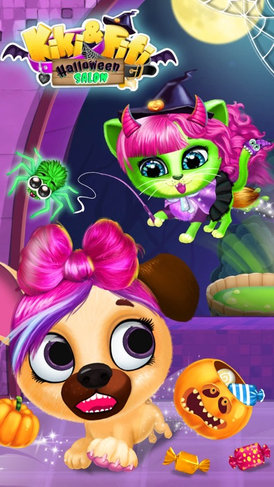Kiki & Fifi Halloween Makeover screenshot 3