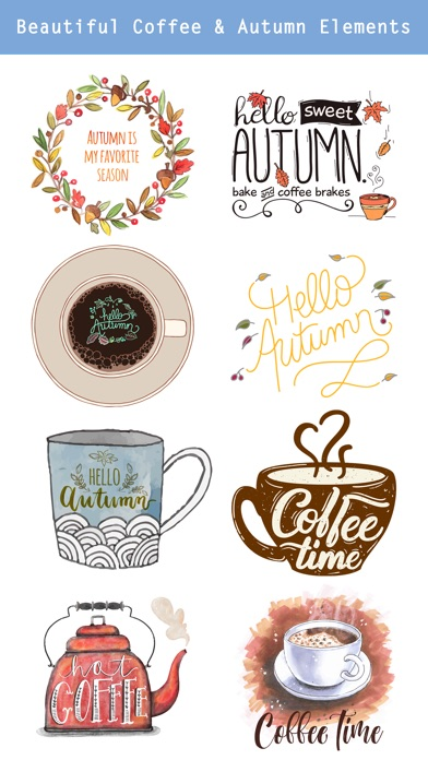Autumn Love - Coffee & Flower & Quotes screenshot 4