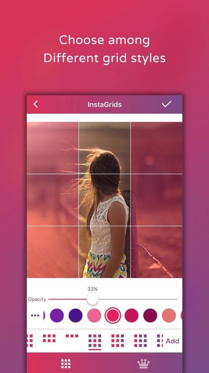 Photo Grid - Create Grids Pics screenshot-3