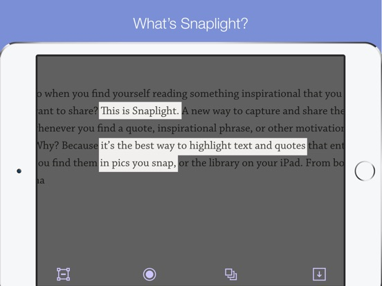 Snaplight - Photo Highlighter Screenshots