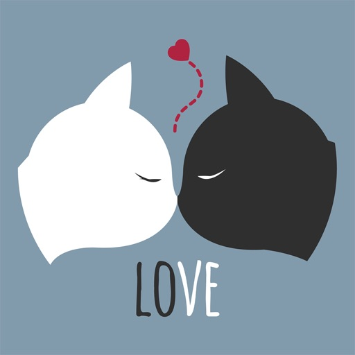 Love Quotes with Lovely & Romantic Animal Couple icon