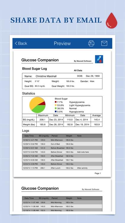 Glucose Companion screenshot-4
