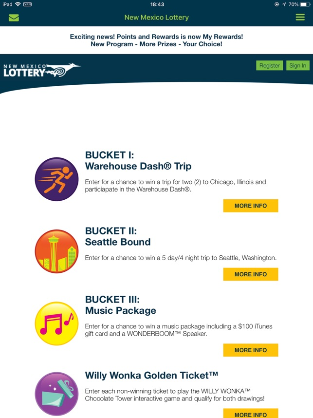 NM Lottery Official App on the App Store