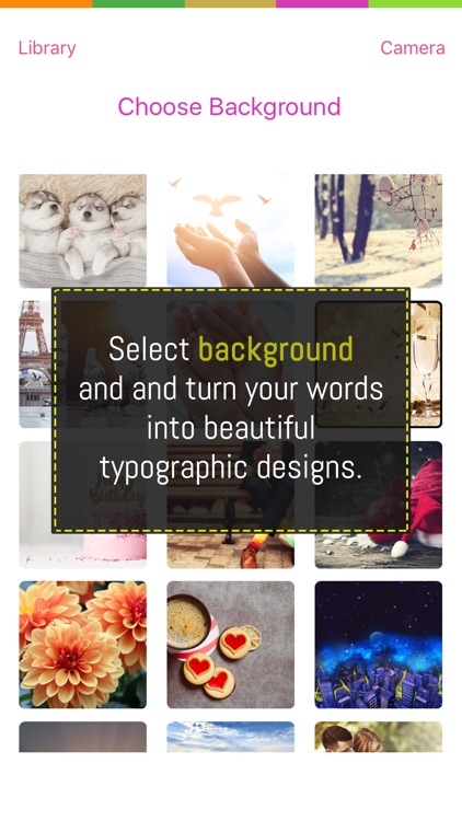 Typography Design Photo Editor