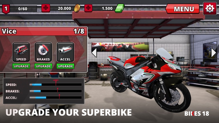 Super Bikes Racing 2018 screenshot-2