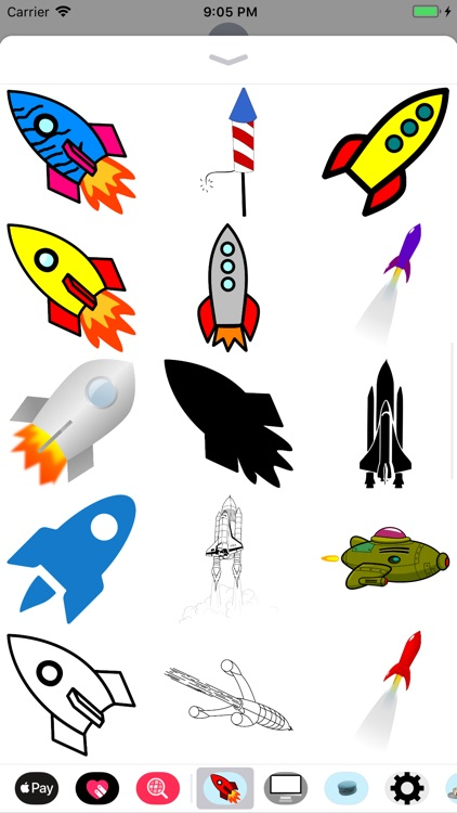 Rocket Sticker Pack screenshot-2