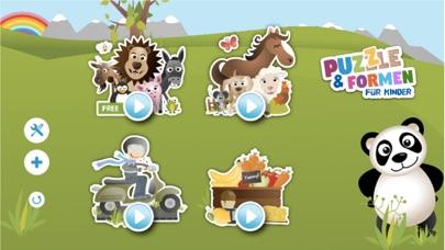 Tier Puzzle & Formen KinderScreenshot von 1