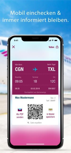 Eurowings Im App Store