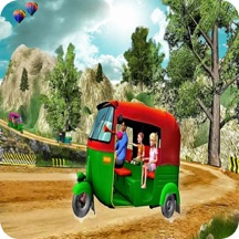 Real Tuk Tuk Rikshaw Simulator
