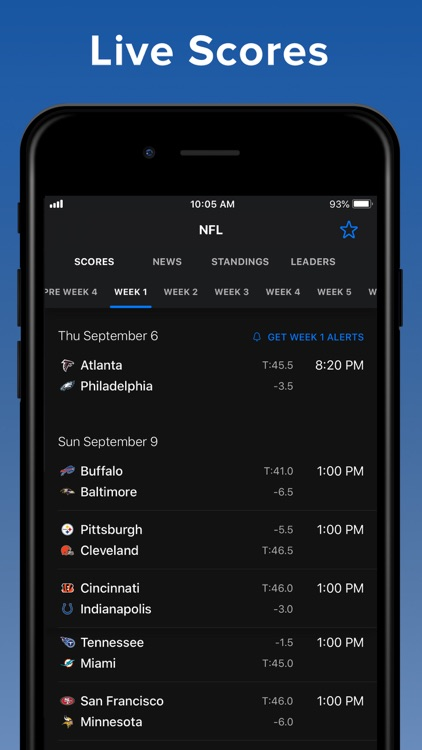 theScore: Sports News & Scores screenshot-0