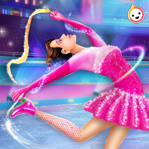 Ice Skating Girl Makeup on the App Store