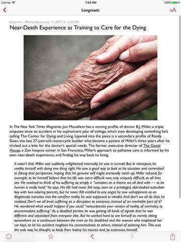lire (Full-text RSS) screenshot 4