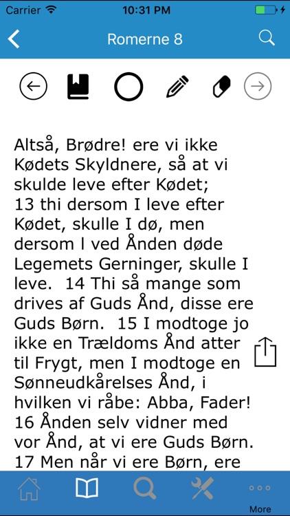 Bibelen på Dansk screenshot-3