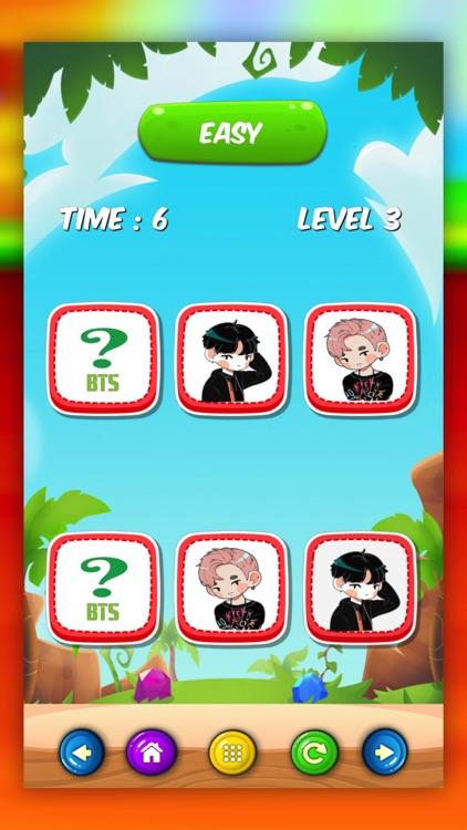 Kpop Idol BTS Matching Games by Jongkonwan Phisitphunphorn