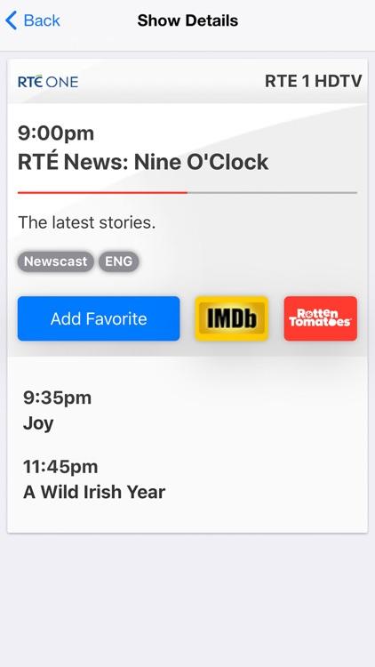 On TV Tonight Ireland