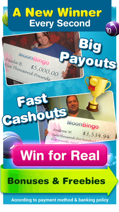 Moon Bingo - Real Money Slots screenshot four