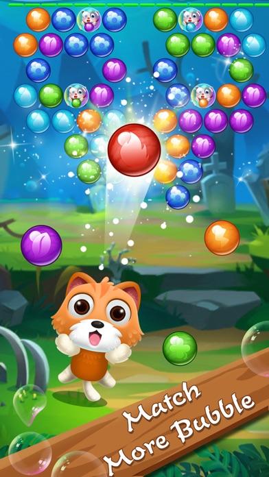 Rescue pet pop bubble shoot cat