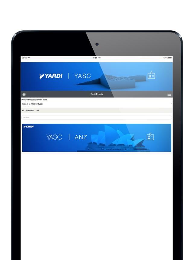 App Store: Yardi Events