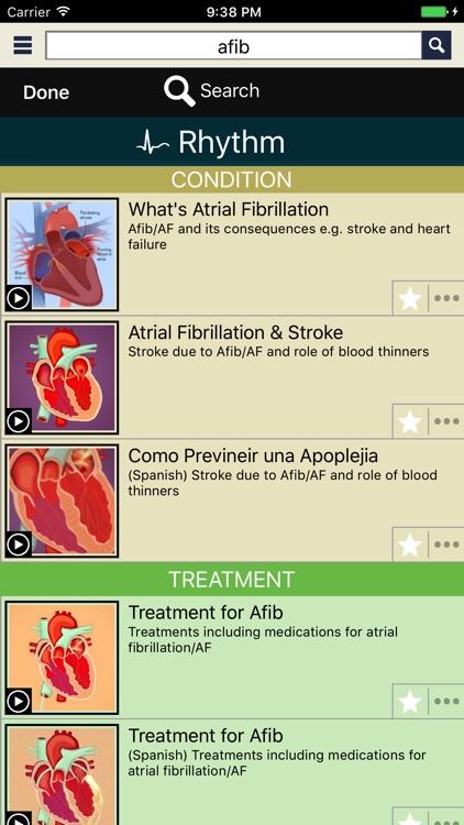 CardioVisual: Heart Health screenshot-3