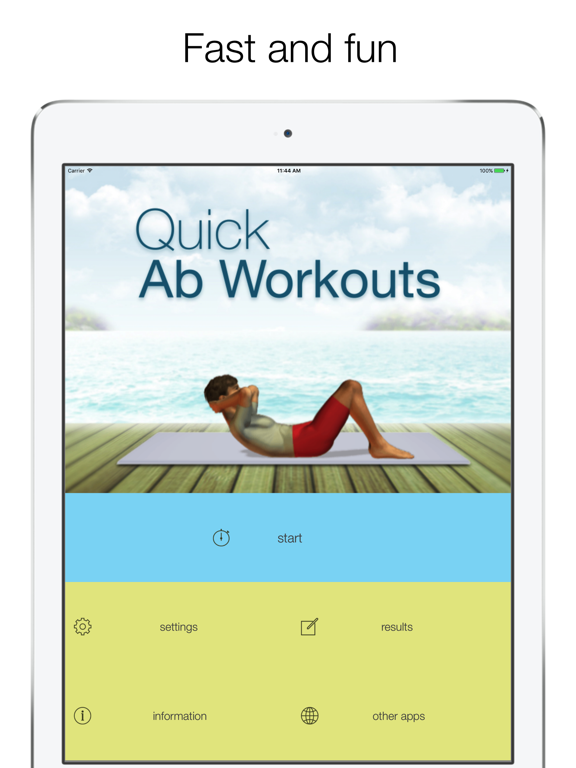 5 Minute Abs Workouts - daily exercises for your abs and core screenshot