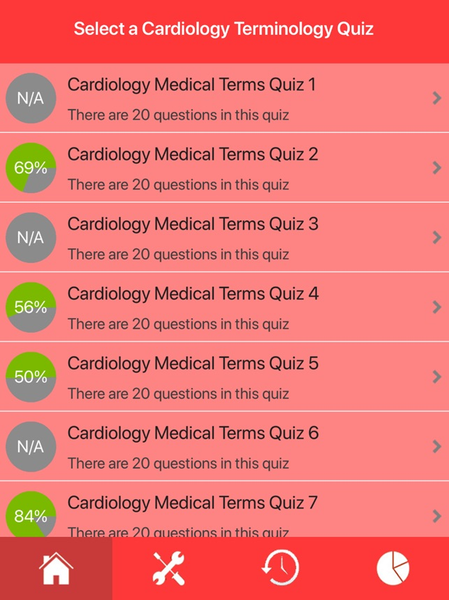 Cardiology Medical Terms Quiz on the App Store