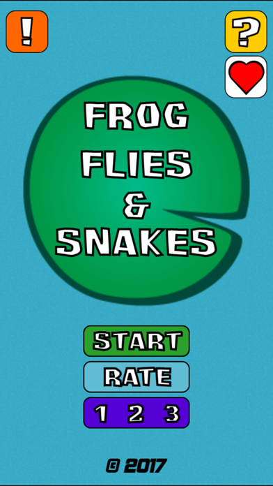 Frog Flies and Snakes Ad Free Screenshot 1