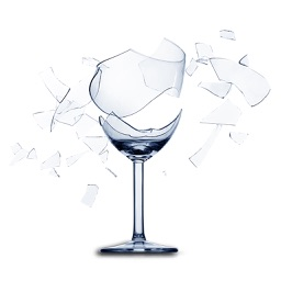 Break It - Smash glass cup to release your stress