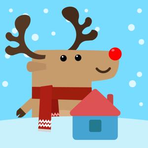 AR Christmas House app