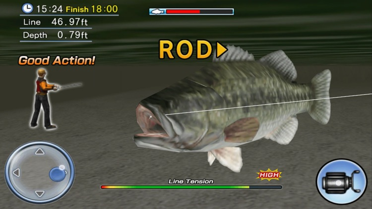 Bass Fishing 3D screenshot-3
