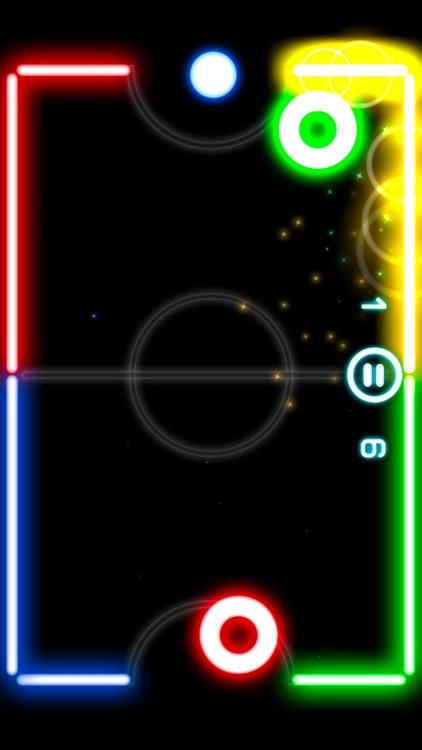 Glow Hockey 2L screenshot-3