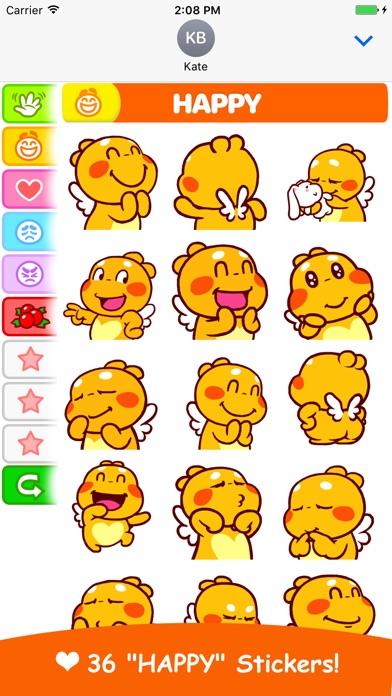 QooBee Agapi Stickers