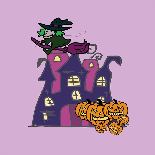 Happy Halloween Stickers Set