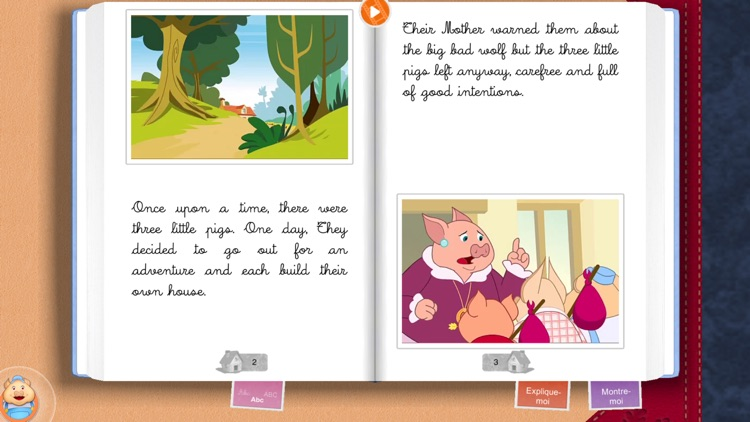 The 3 Little Pigs - Chocolapps screenshot-3