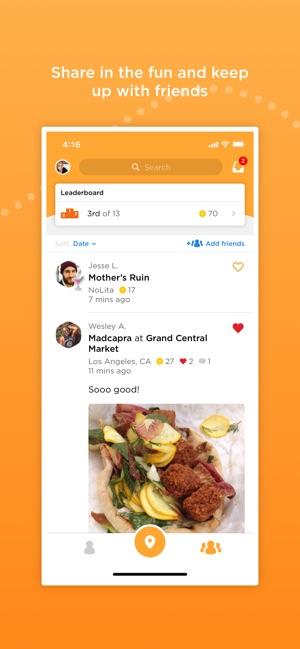 Foursquare Swarm: Check-in App Screenshot
