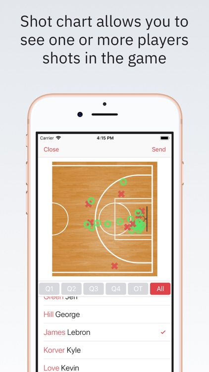 Basketball Stats PRO Phone screenshot-4