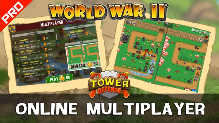 WWII Tower Defense PRO screenshot-3