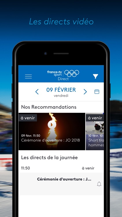 france•tv JO: PyeongChang 2018