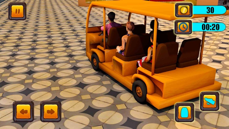 Shopping Mall Taxi Driver 2018