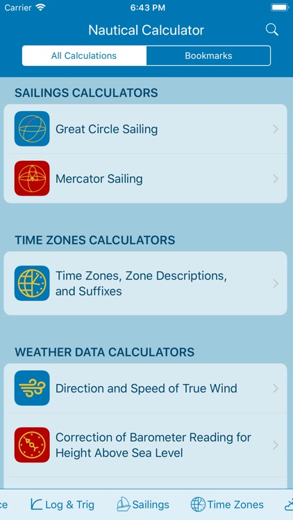 Nautical Calculator screenshot-3
