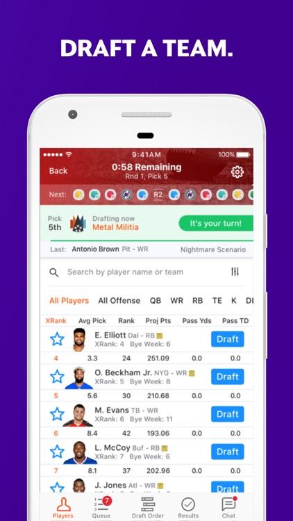 Yahoo Fantasy Sports: Football and more! screenshot-3