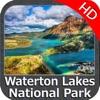 Waterton Lakes NP HD GPS chart